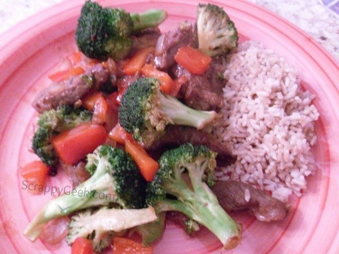 Under 500 Calorie Beef and Veggie Stir-Fry Recipe