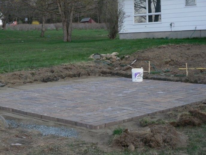 Good Laying A Paver Patio