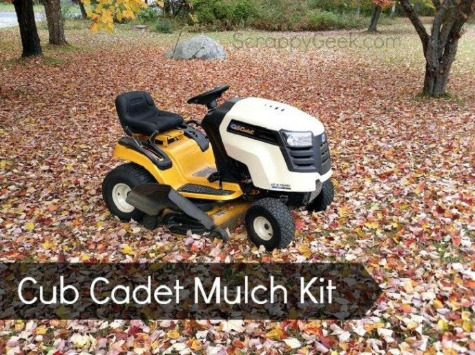 Cub Cadet Mulching Blade Kit Review • Scrappy Geek