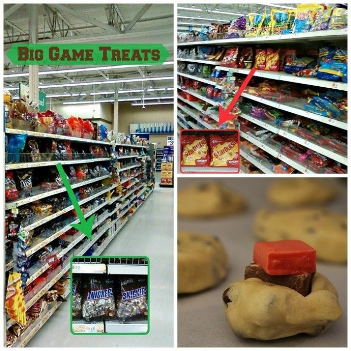 Walmart, SNICKERS, Starburst - #BigGameTreats #Ad