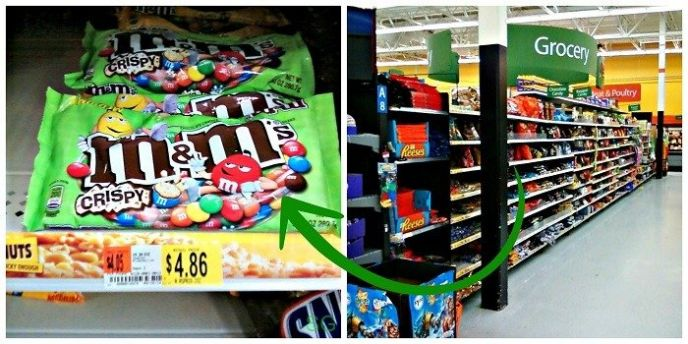 M&Ms Crispy are back!