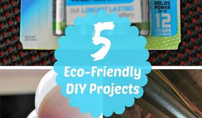 5 Eco-Friendly DIY Projects