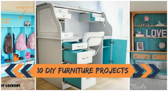 10 DIY Furniture Makeovers