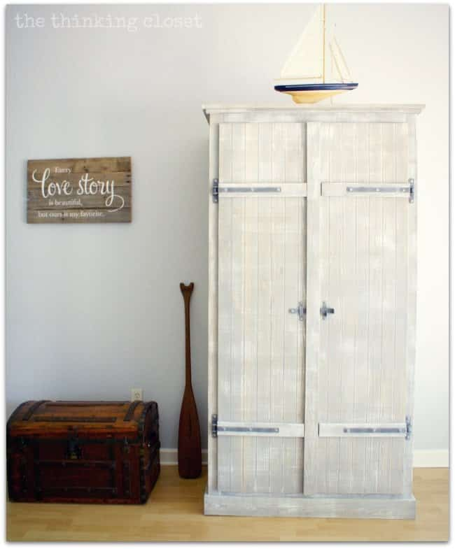 IKEA Wardrobe Hack using Pallets