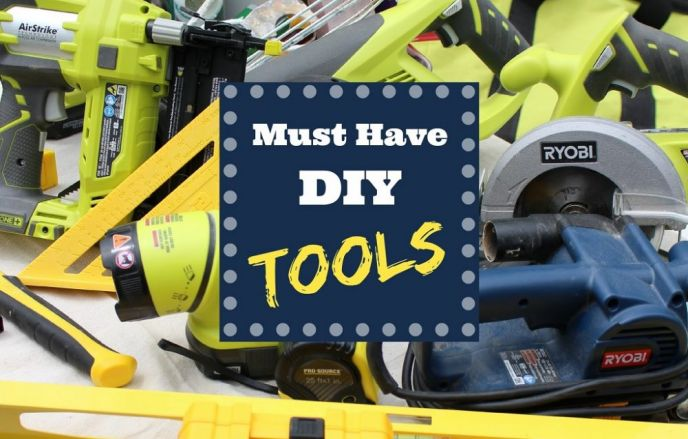 My Toolbox: Must Have DIY Tools