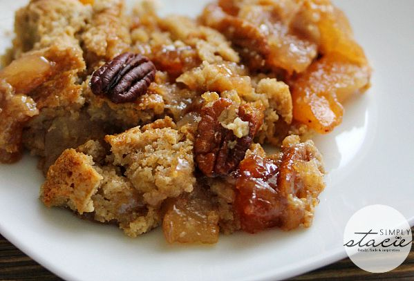 Easy Fall Apple Dump Cake