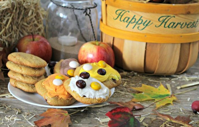 Apple Pecan Fall Harvest Cookie Recipe