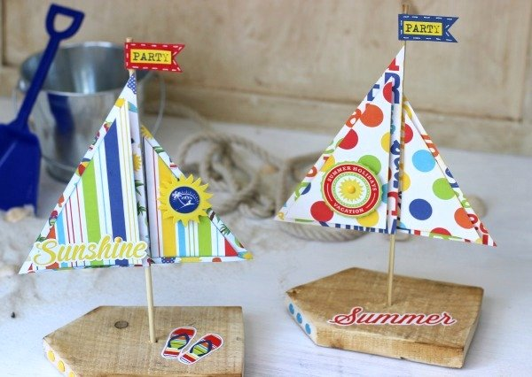 DIY Sailboat Crafting Project