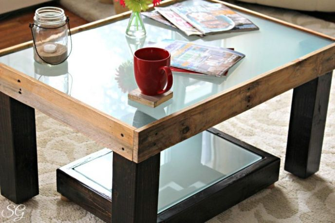 Diy Coffee Table Scrappy Geek