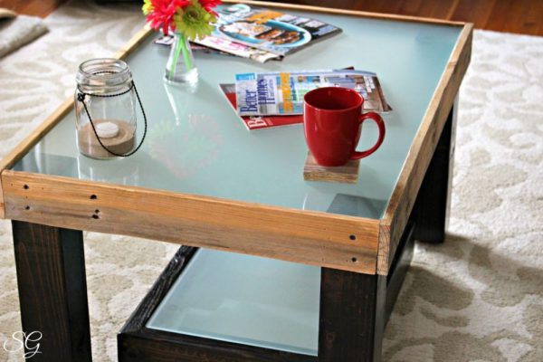Upcycled DIY Coffee Table