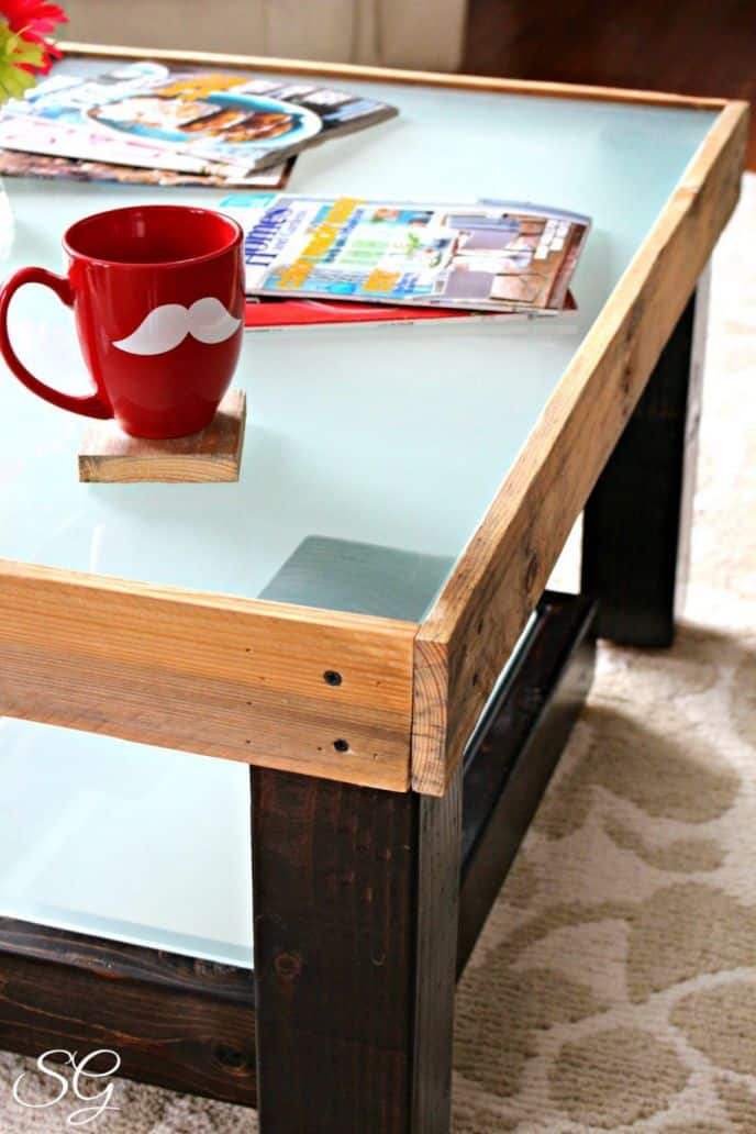 Upcycled Diy Coffee Table Scrappy Geek