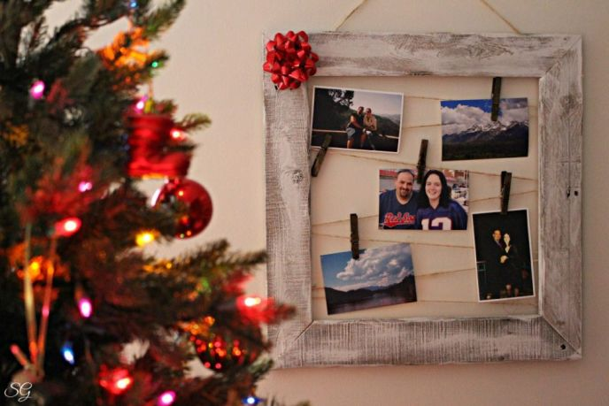 DIY Picture Frame: The Gift Of Memories