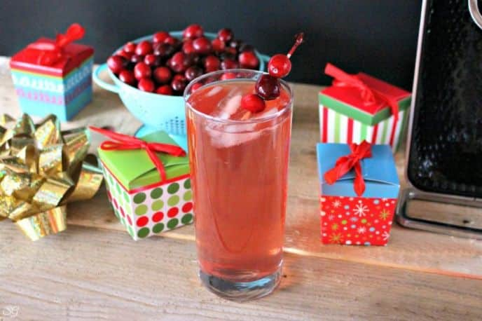 Rudolph's Red Nose Mixed Drink
