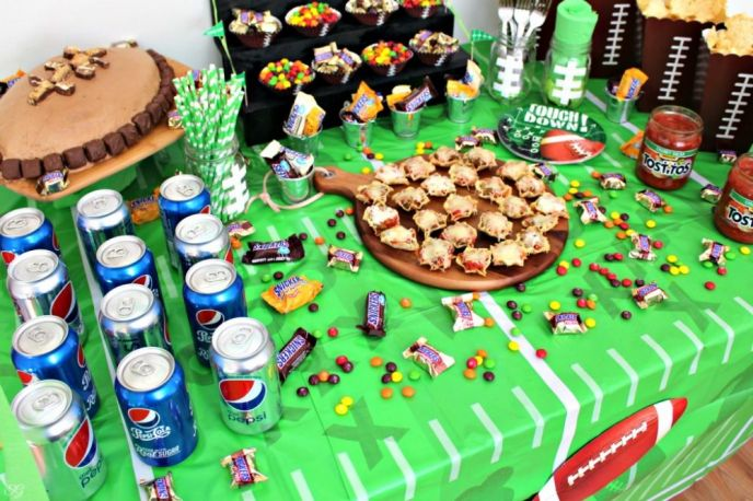 Decorative Football Table Cloth