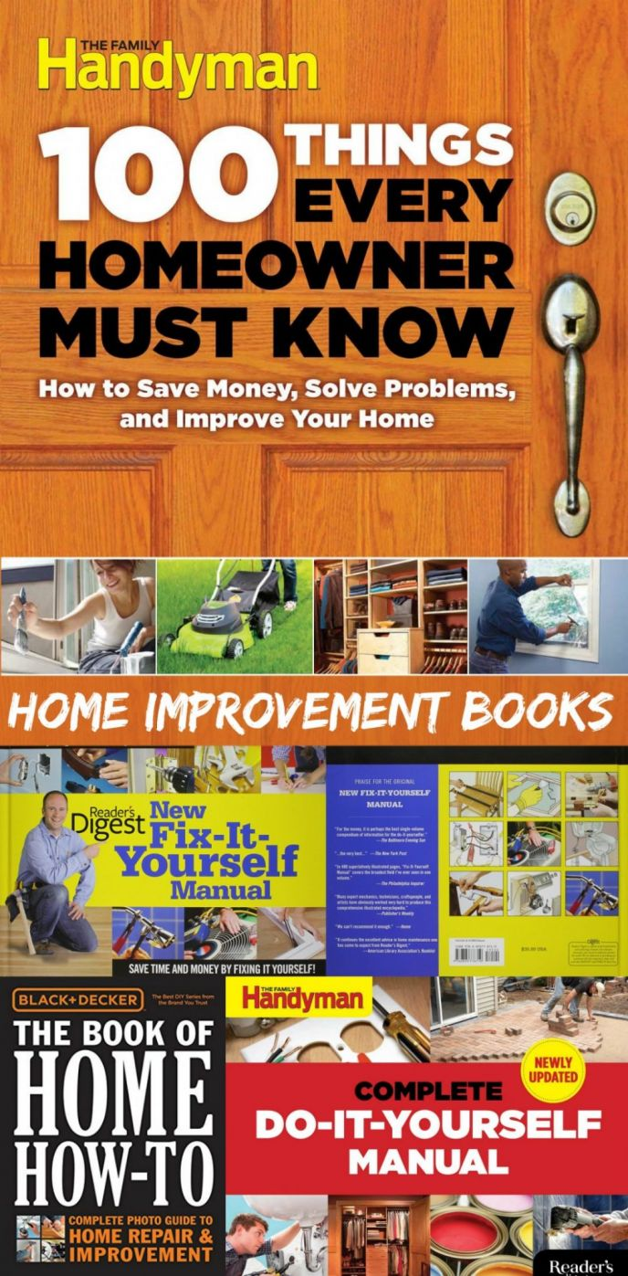 Best diy home improvement books scrappy geek top 5 diy home improvement books solutioingenieria Choice Image
