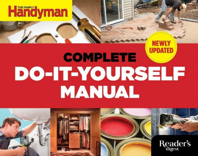 Complete do it yourself manual book scrappy geek for Do it yourself home improvement projects