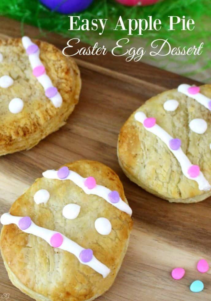 Easy Apple Pie Easter Eggs