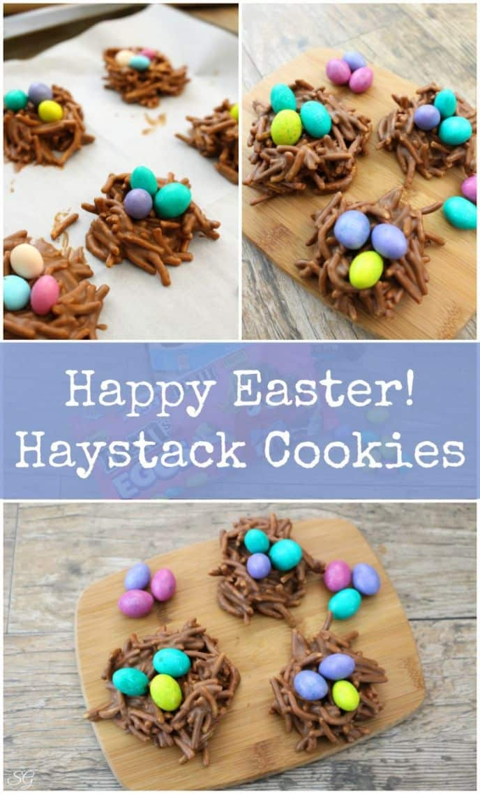 Haystack Cookies / Birds Nest Cookies