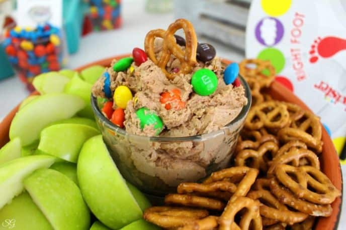 M&M's Peanut Butter and Chocolate Dip Recipe