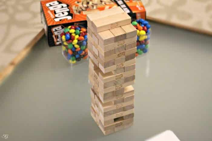 Playing the Jenga Game with New Rules