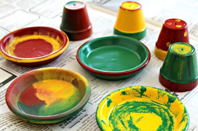 Cinco de Mayo Crafts with Clay Pots