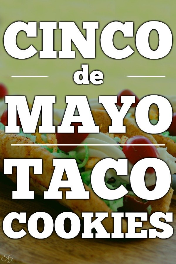 Cinco de Mayo Taco Cookies Recipe! CLICK to make these EASY Cinco de Mayo Taco shaped sugar cookies with a spicy kick! #cookies #baking #bake #baker #taco #tacos #tacocookies #cincodemayo #5thofmay #may5th #cookie #easyrecipe #recipes #delish #yum #nomnom #recipe #cookierecipe