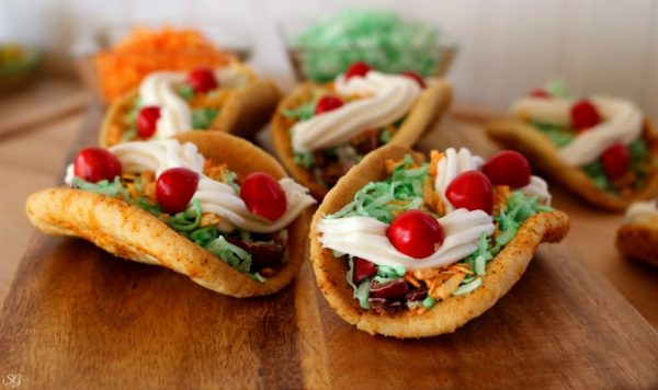 Taco Cookie Cinco de Mayo Desserts