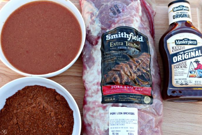 Smithfield Rub, Mop and Slather Grilling Ribs Recipe