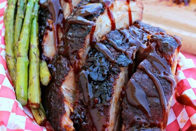 Three Step Grilled Ribs