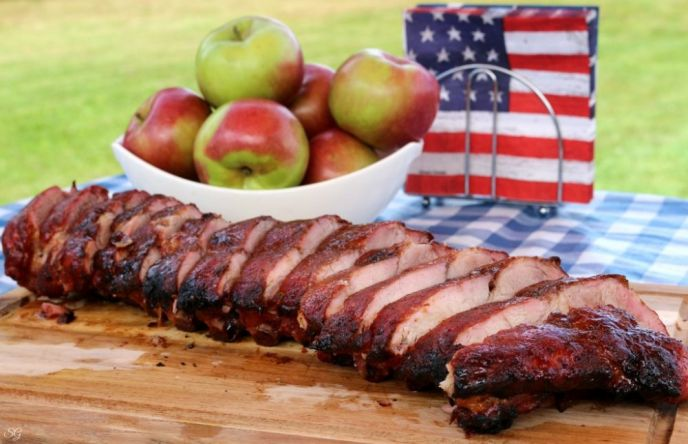 Apple Cider BBQ Back Ribs