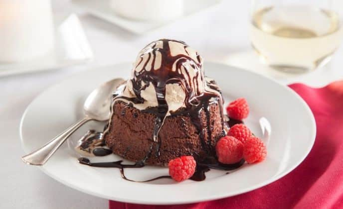 Dessert for Two: Chocolate Espresso Lava Cake