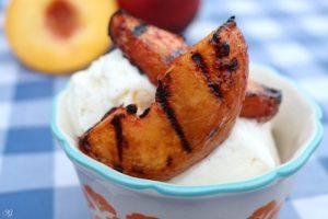 Grilled Peaches Dessert Recipe