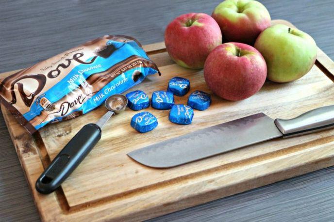Chocolate Apples Ingredients