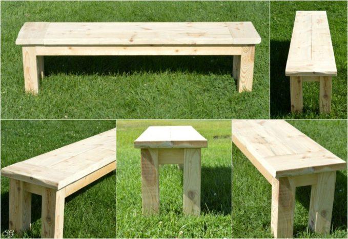 Easy DIY Seating Bench Tutorial
