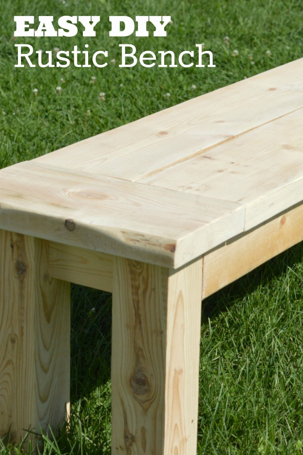 diy rustic seating bench scrappy geek