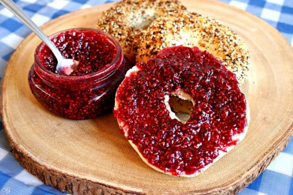 2 Ingredient Easy Raspberry Jam Recipe