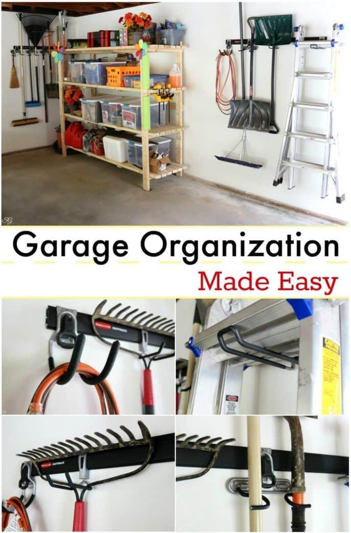 Organize Your Garage with Rubbermaid® FastTrack® Garage Organization System