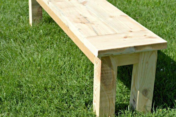 Easy DIY Hallway Bench