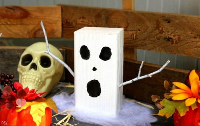 DIY Ghost Halloween Decor