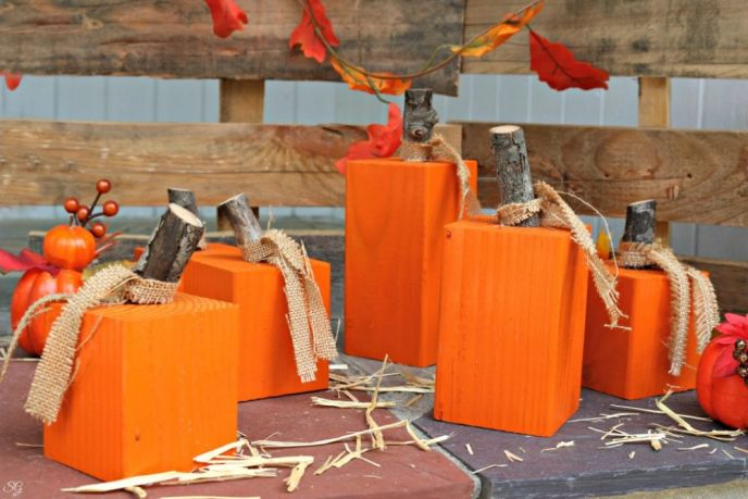 Fall DIY Pumpkin Patch