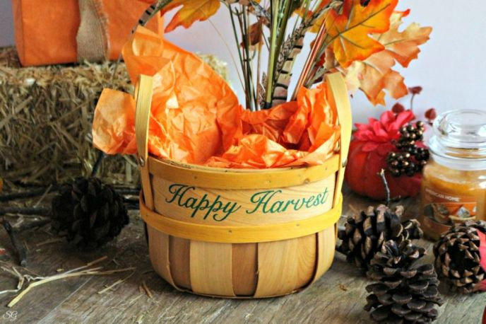 Happy Harvest Basket from Walmart