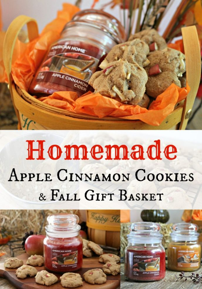 Apple Cinnamon Cookie Recipe and Gift Basket