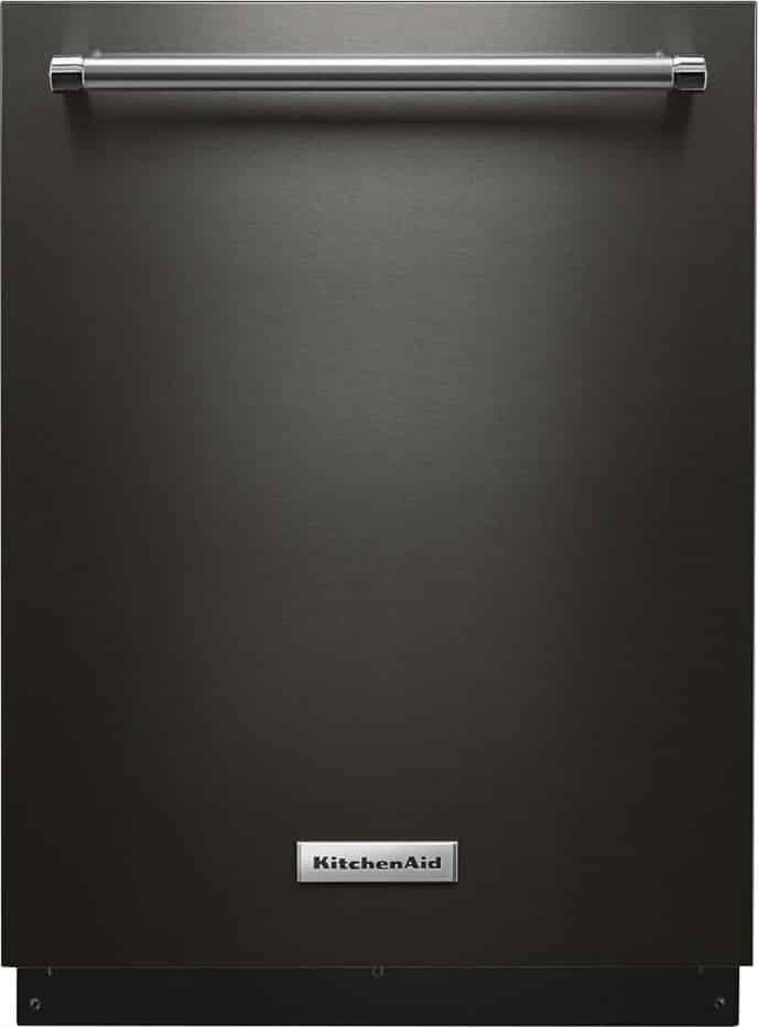 KitchenAid Black Stainless Dishwasher