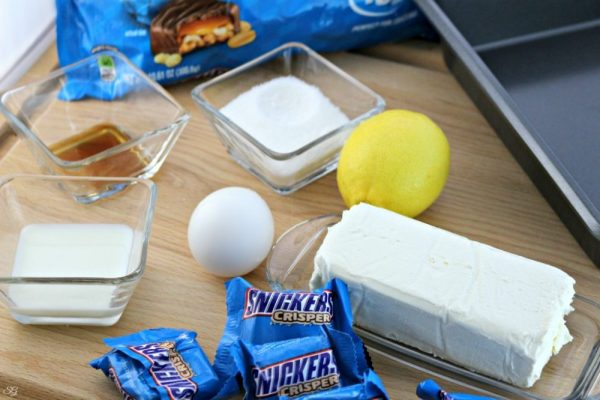 SNICKERS® Cheesecake Bites Ingredients