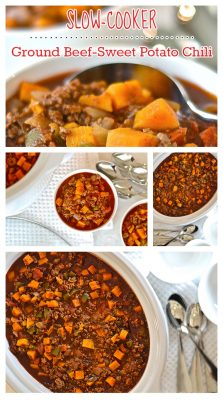 Beef Sweet Potato Chili