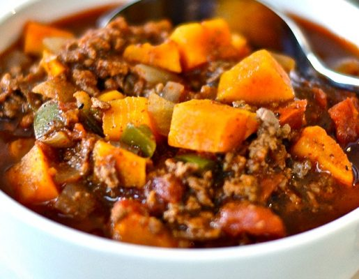 Sweet Potato Beef Chili Recipe