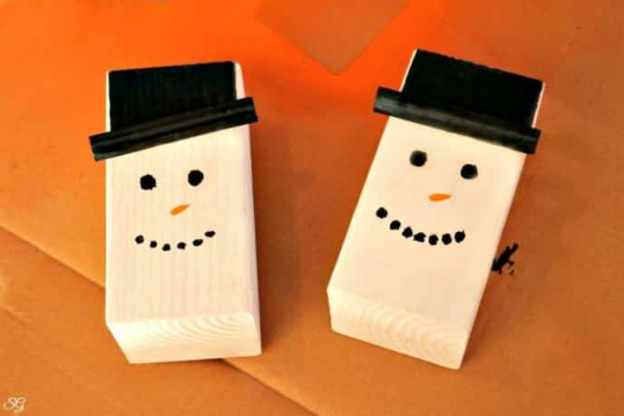 DIY Snowman Winter Decoration Idea Tutorial