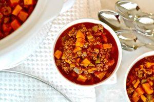 Sweet Potato Beef Chili Recipe