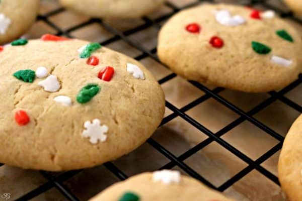 Easy three ingredient holiday cookies