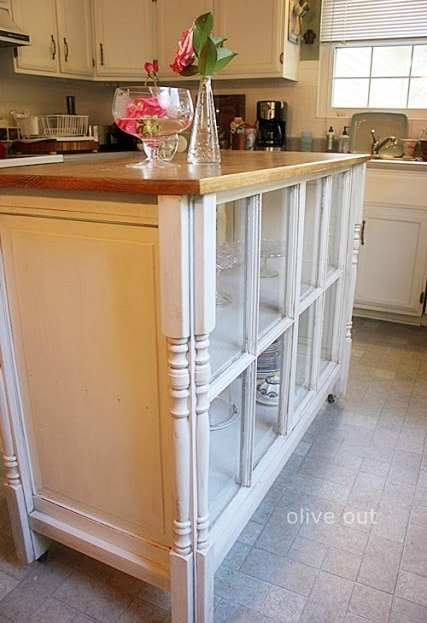 Diy Window Kitchen Island Project